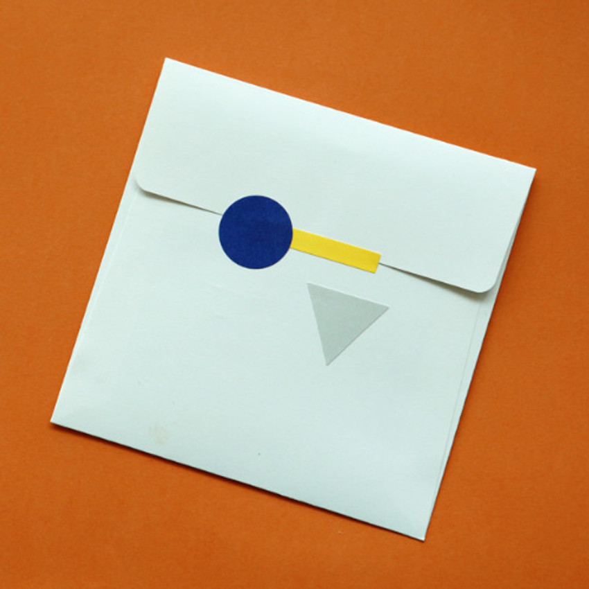 Example of use - Dailylike Choice message letter envelope set
