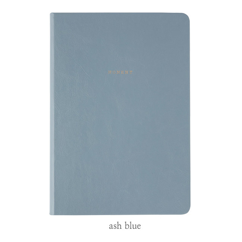 Ash blue - Livework Moment large blank notebook ver3