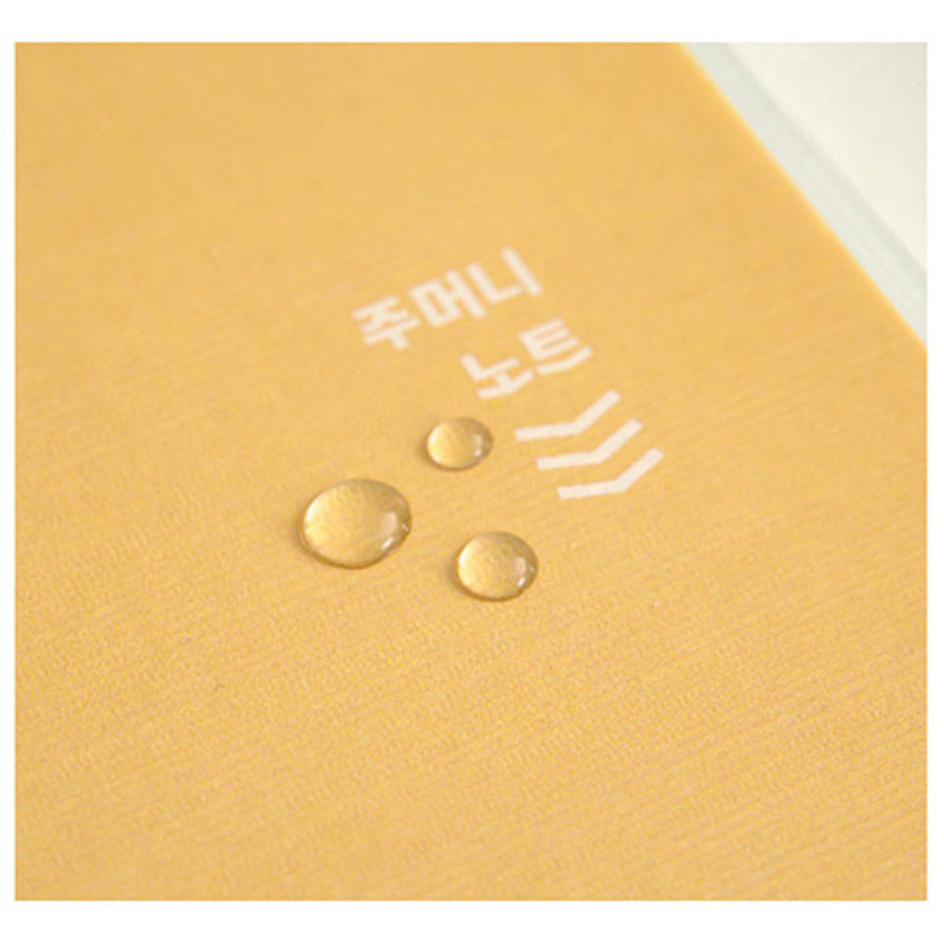 PVC cover - Ardium Pocket large lined notebook with postcard