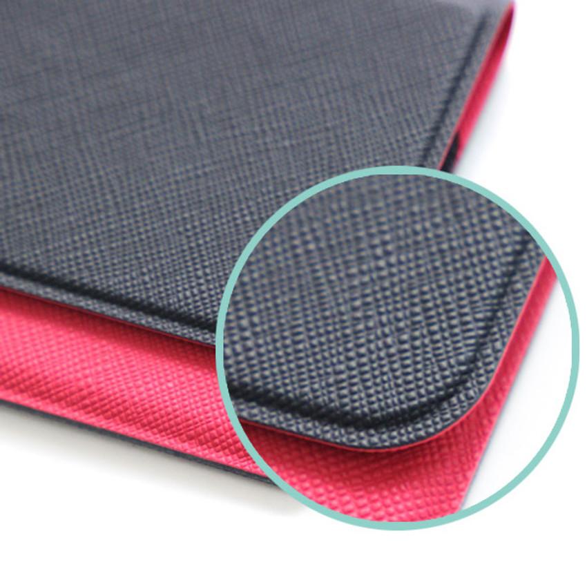 Seamless card case - Fenice Premium business PU cover card case pocket