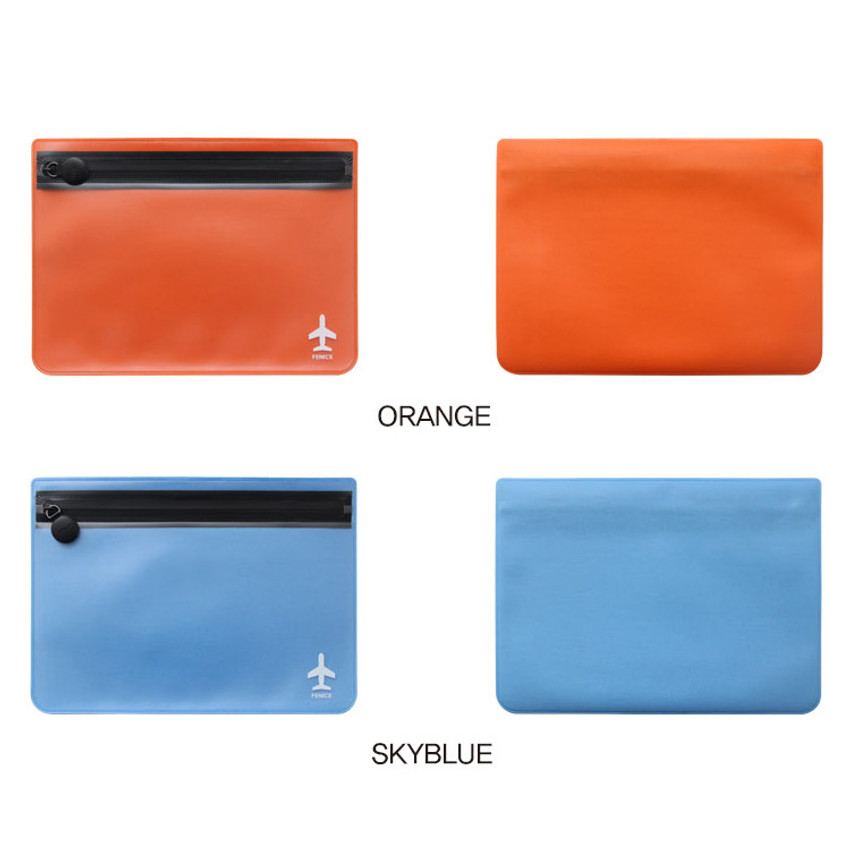 Color - Fenice Travel waterproof translucent zip pouch
