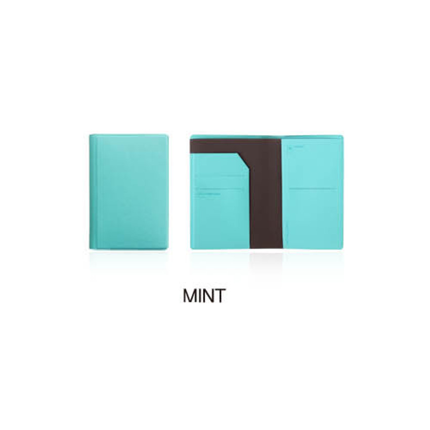 Mint - Fenice Premium PU RFID blocking small passport case holder wallet