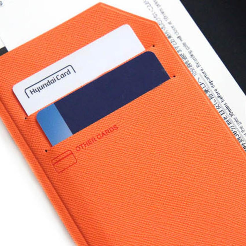 Card slots - Fenice Premium PU RFID blocking small passport case holder wallet