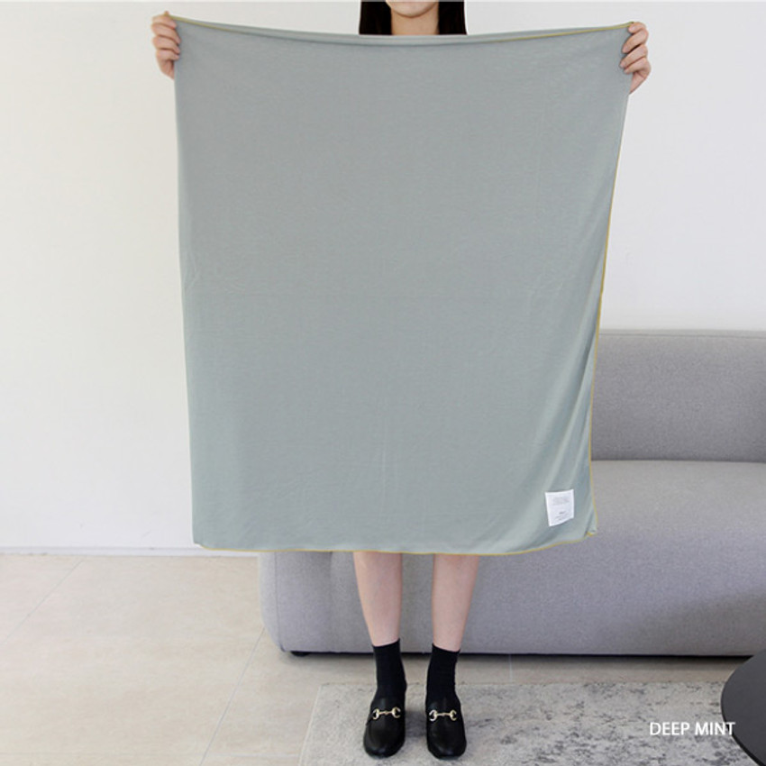 Deep mint - Gunmangzeung Oui around'D fabric summer blanket ver3