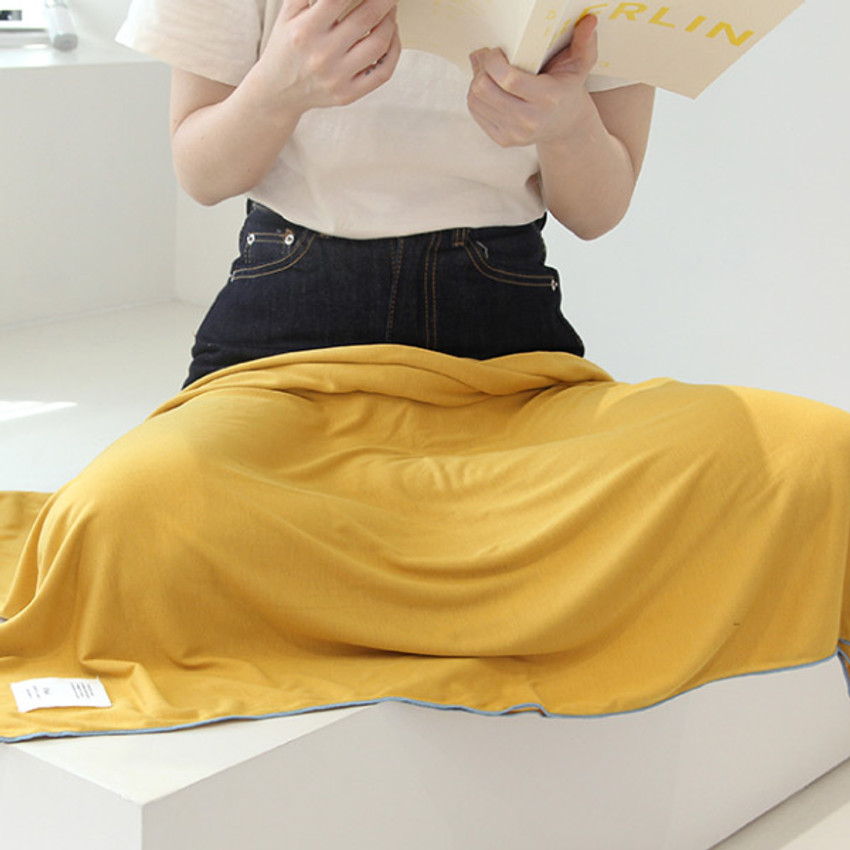 Mustard - Gunmangzeung Oui around'D fabric summer blanket ver3