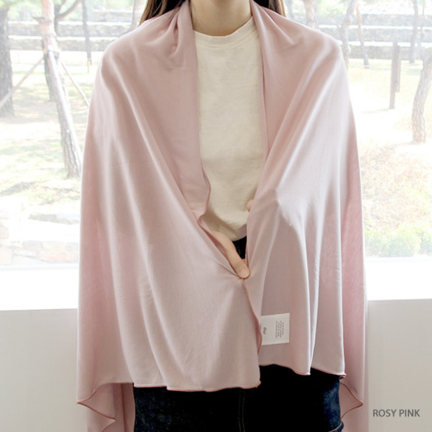 Rosy pink - Gunmangzeung Oui around'D fabric summer blanket ver3