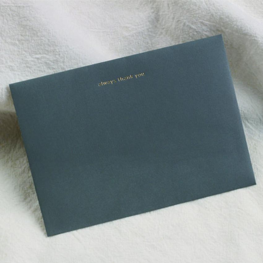 envelope - Dash and Dot My illustration letter always thank you envelope set