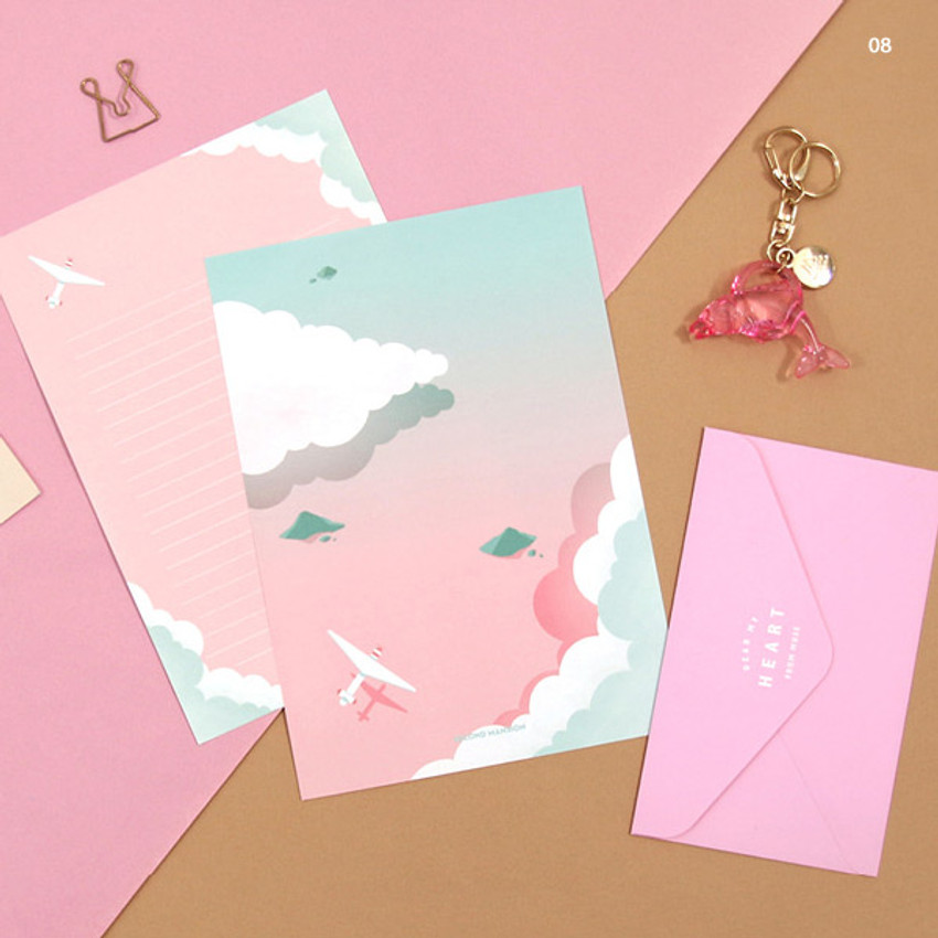 08 - Second Mansion Moonlight letter paper envelope set ver2