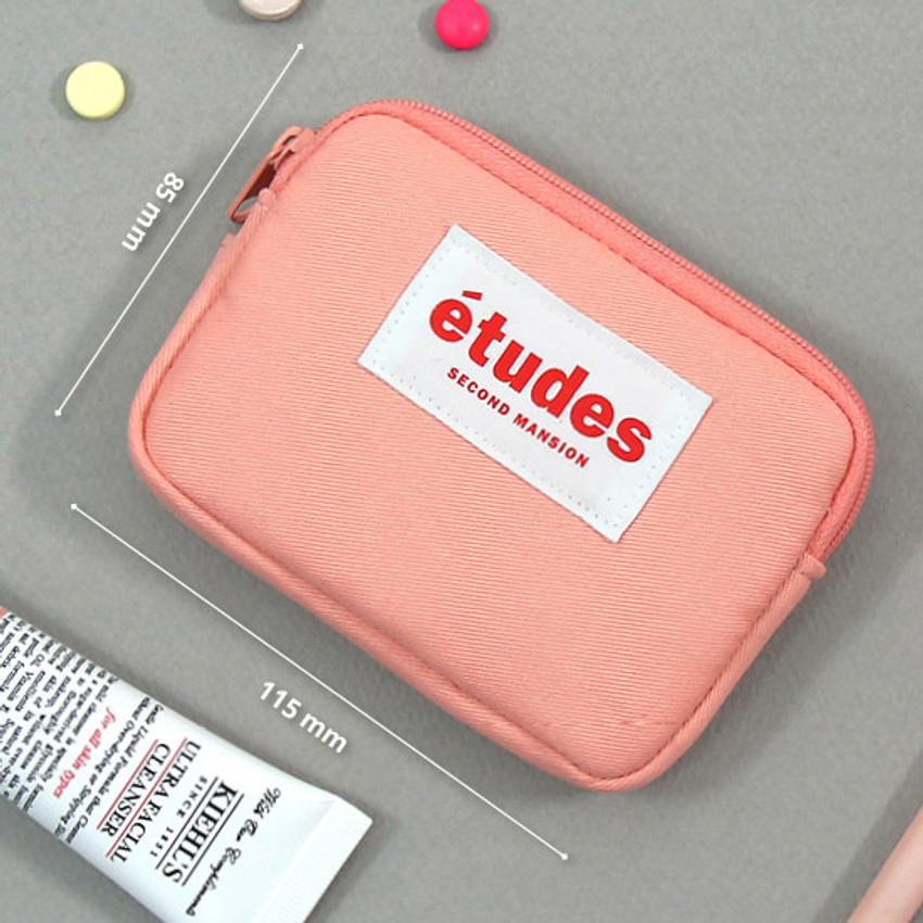 Size - Second Mansion Etudes zipper card case wallet ver2