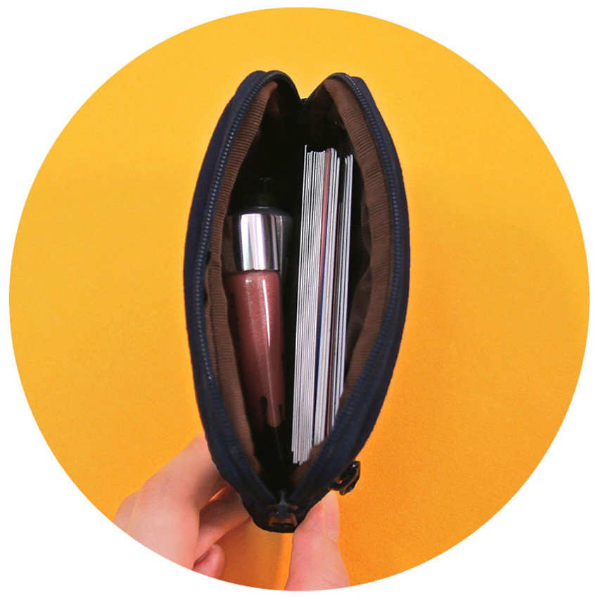 Zipper card case - Second Mansion Etudes zipper card case wallet ver2