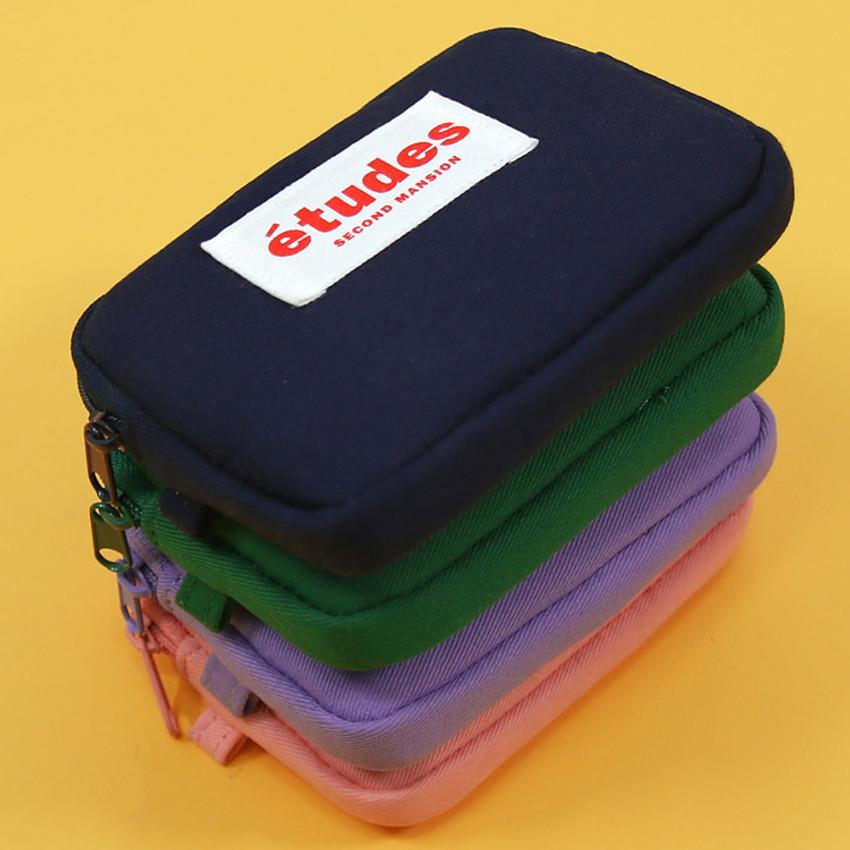 Second Mansion Etudes zipper card case wallet ver2