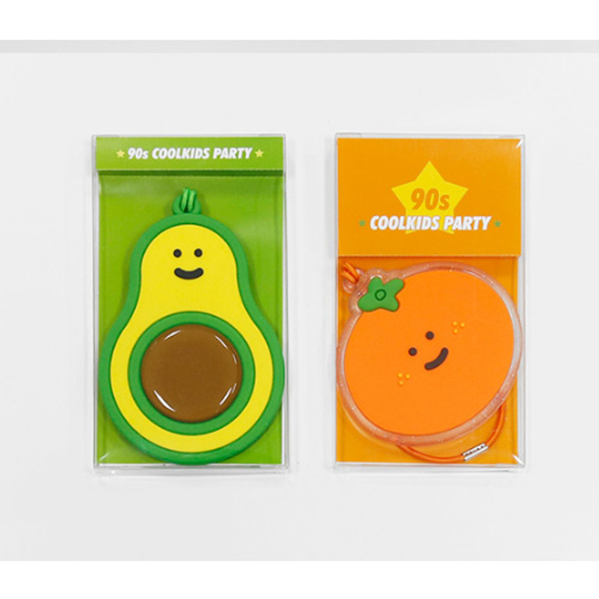 Package - 90s coolkids party fake food travel luggage name tag