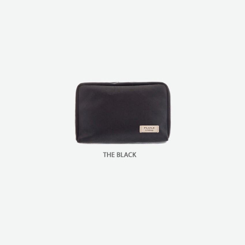 The black - Byfulldesign Oxford basic bank pocket pouch ver4