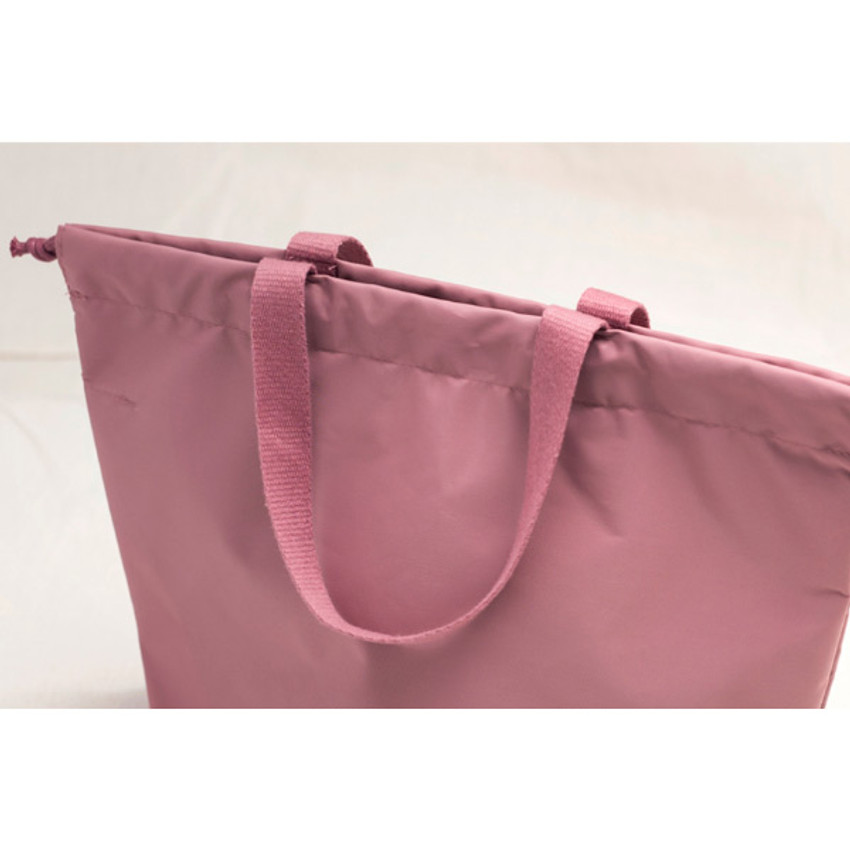 Travelus air bag drawstring medium shoulder tote bag