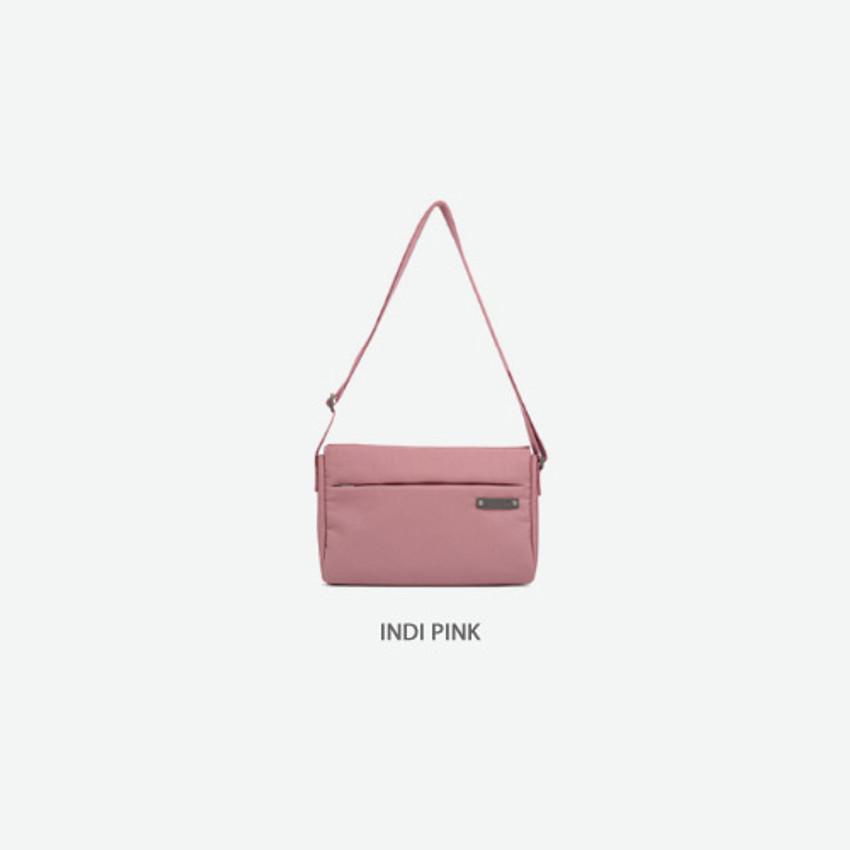Indi pink - Byfulldesign Travelus minimal crossbody bag for walking