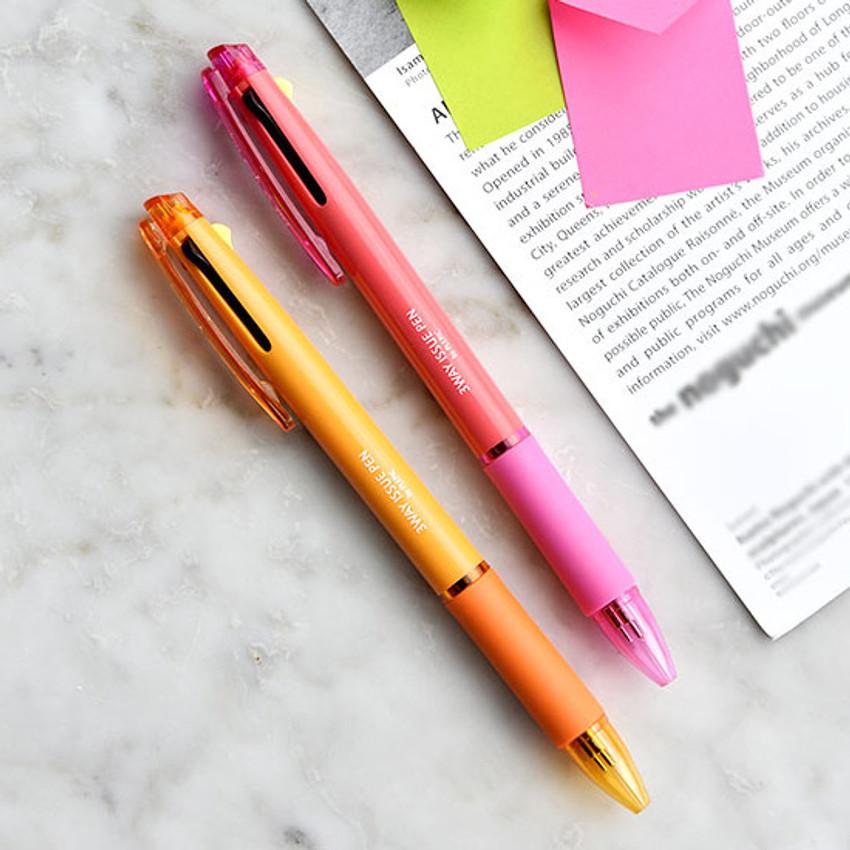 Play obje 3way issue 0.7mm ballpoint multi pen