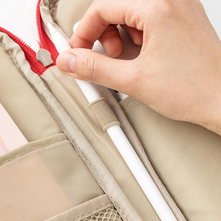 Pen holder - Livework Som Som pocket tablet iPad zip fabric pouch