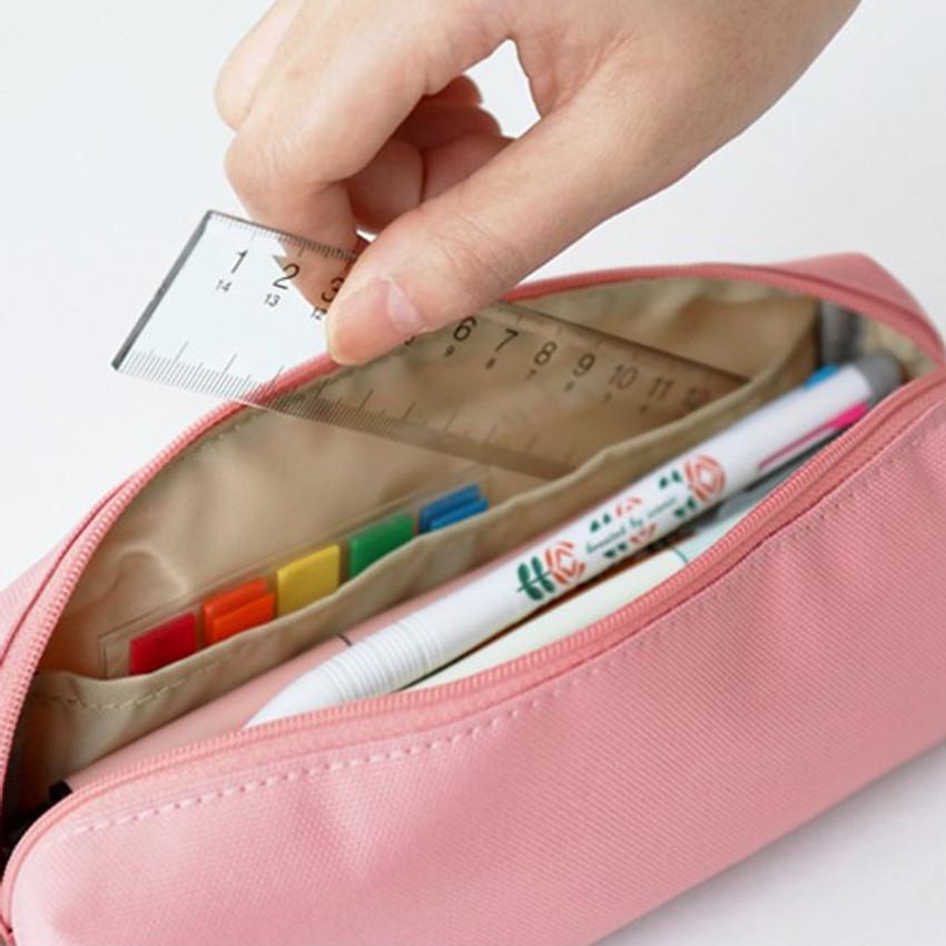 Left pockets - ICONIC Bonheur constant zipper pencil case pen pouch
