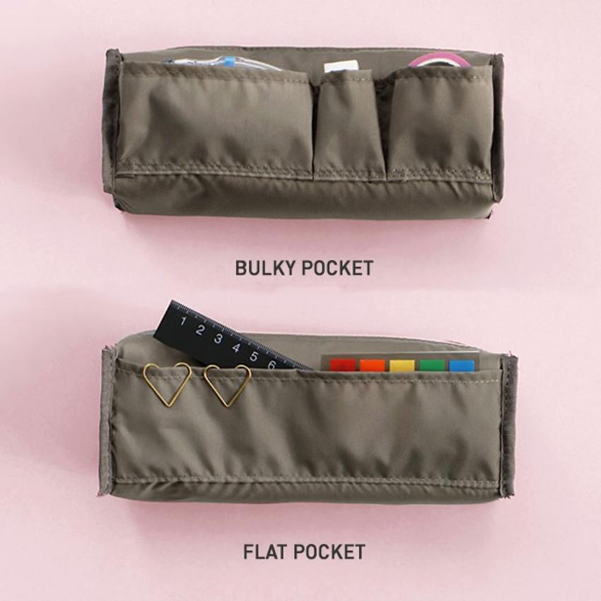 Pocket -  ICONIC Bonheur constant zipper pencil case pen pouch