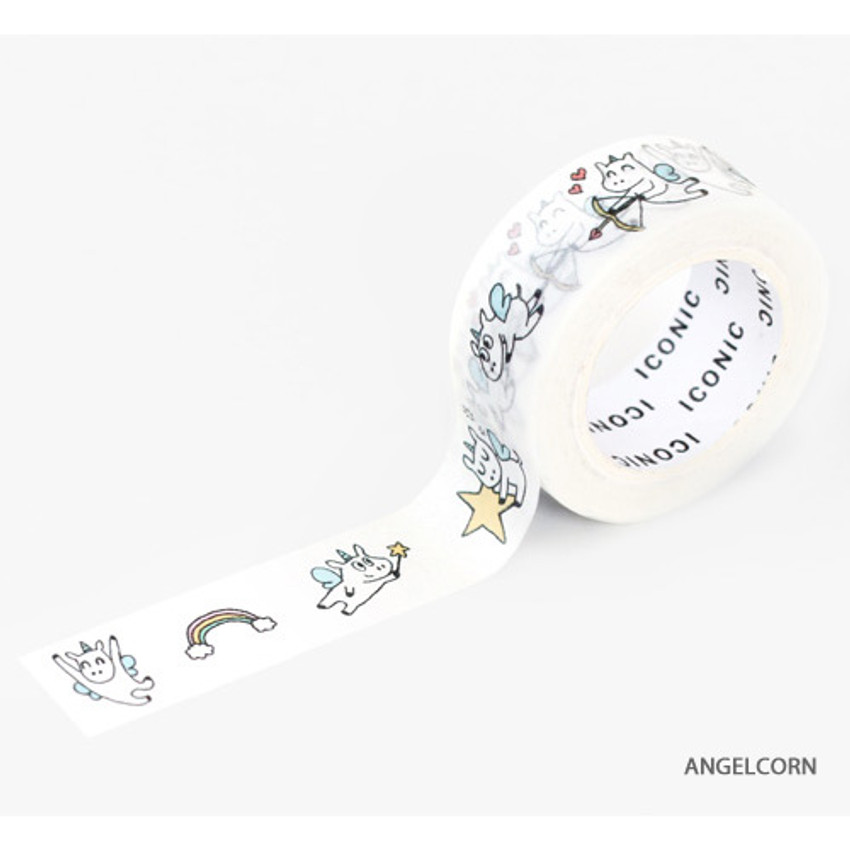 Angelcorn - ICONIC Emotion pattern paper deco masking tape
