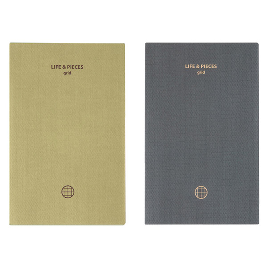 Livework Life and pieces small grid notebook