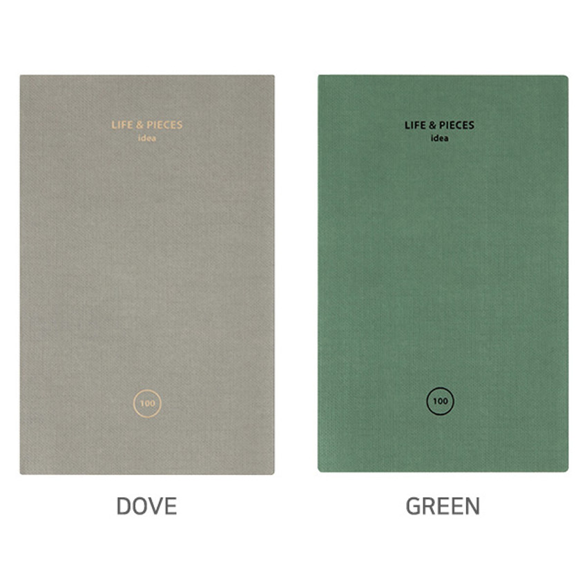 Option - Livework Life and pieces small idea blank notebook
