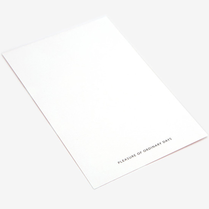Dailylike Bichon small card and envelope set