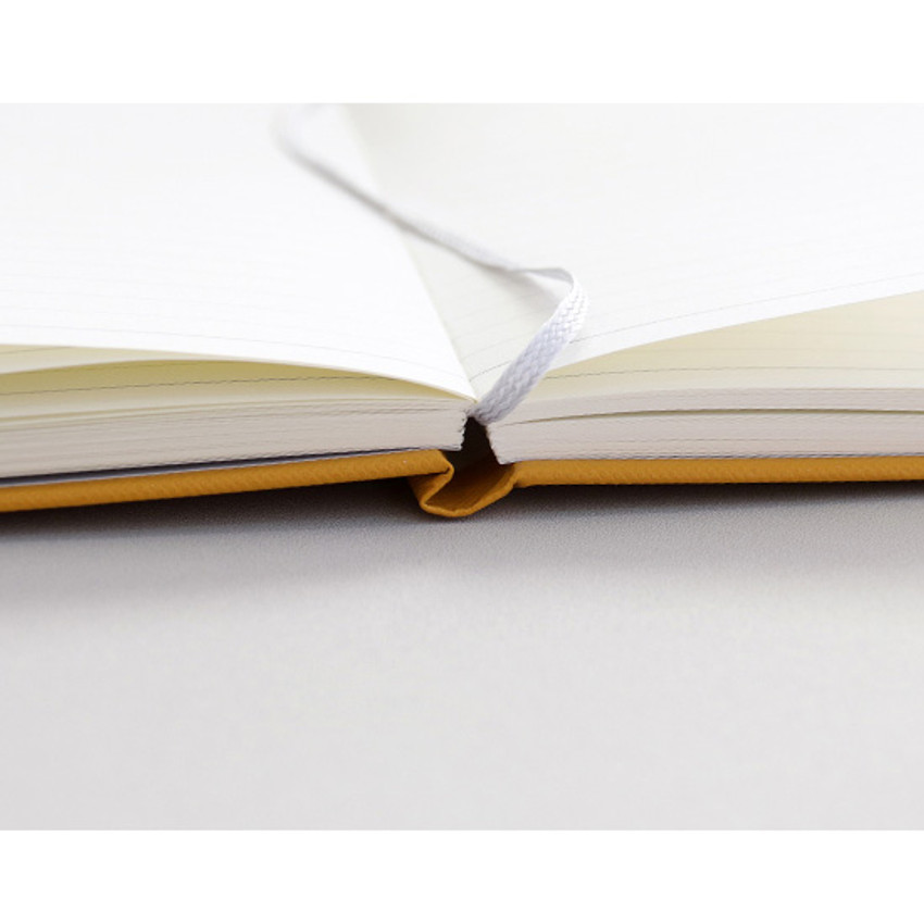 Ribbon bookmark - Prism 180 pages medium lined notebook with elastic band