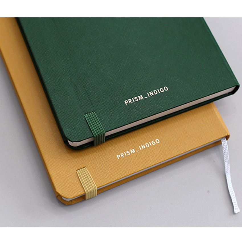 Elastic band closure - Prism 180 pages medium lined notebook with elastic band