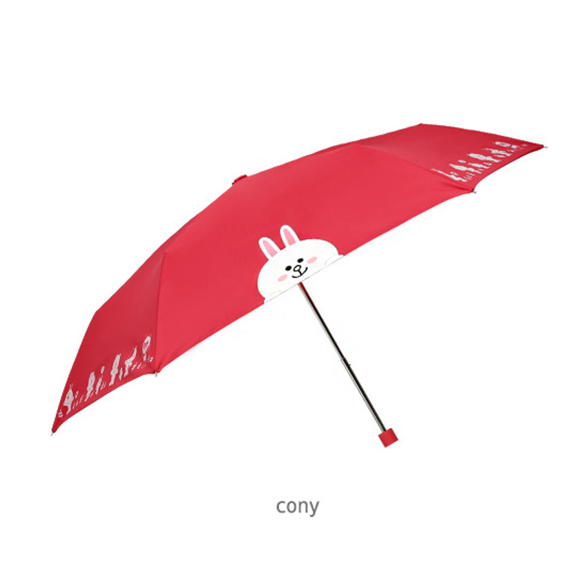 Cony - Monopoly Line friends ultralight 3 layer umbrella