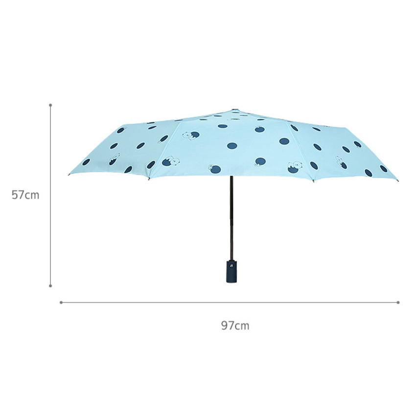 Size - Monopoly Line friends hanging automatic 3 fold umbrella