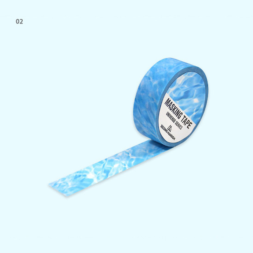 02 - Universe water 15mm width deco masking tape 07