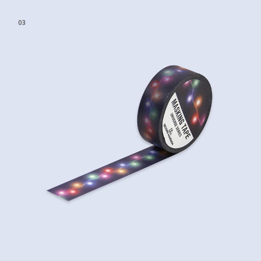 03 - Universe star 15mm width deco masking tape 02