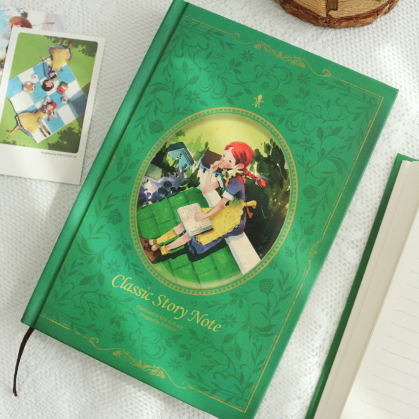 Anne green - Indigo Classic story 272 pages hardcover blank notebook