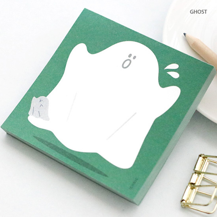 Ghost - ICONIC Buddy 80 sheets memo writing notepad