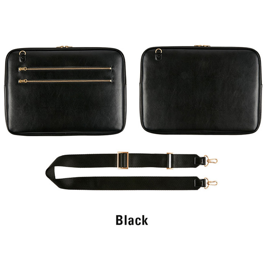 Black - Antenna Shop Slim and wide SL 15 inches laptop PC bag