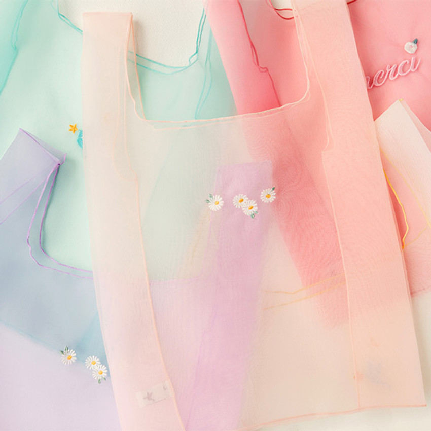 Livework Nouveau stitch polyester daily tote bag
