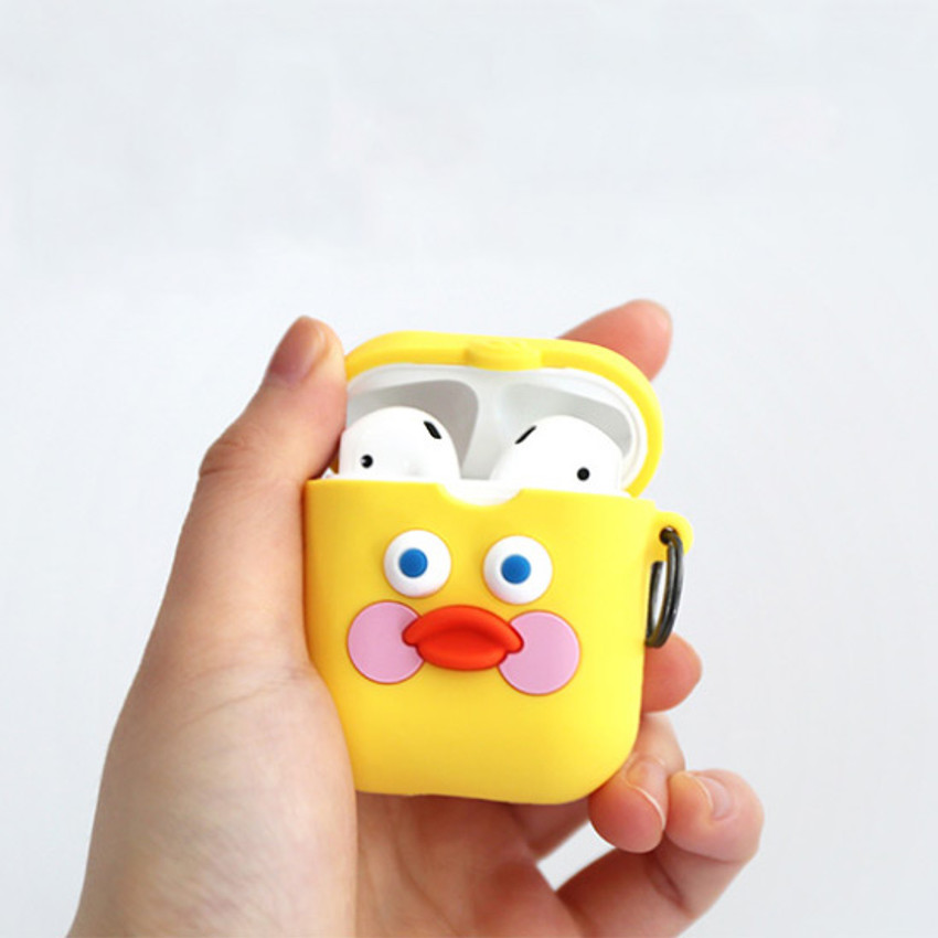 Yellow duck - ROMANE Brunch brother AirPods case silicone cover