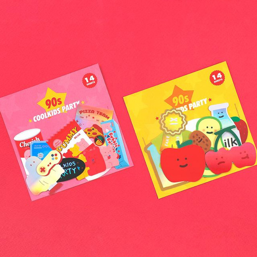 Be on D 90s coolkids party cute sticker pack