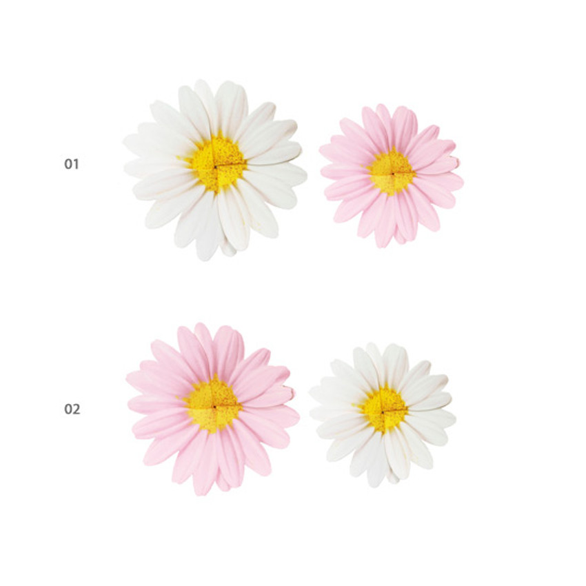 Option - ABJECTION Daisy cards and envelope set