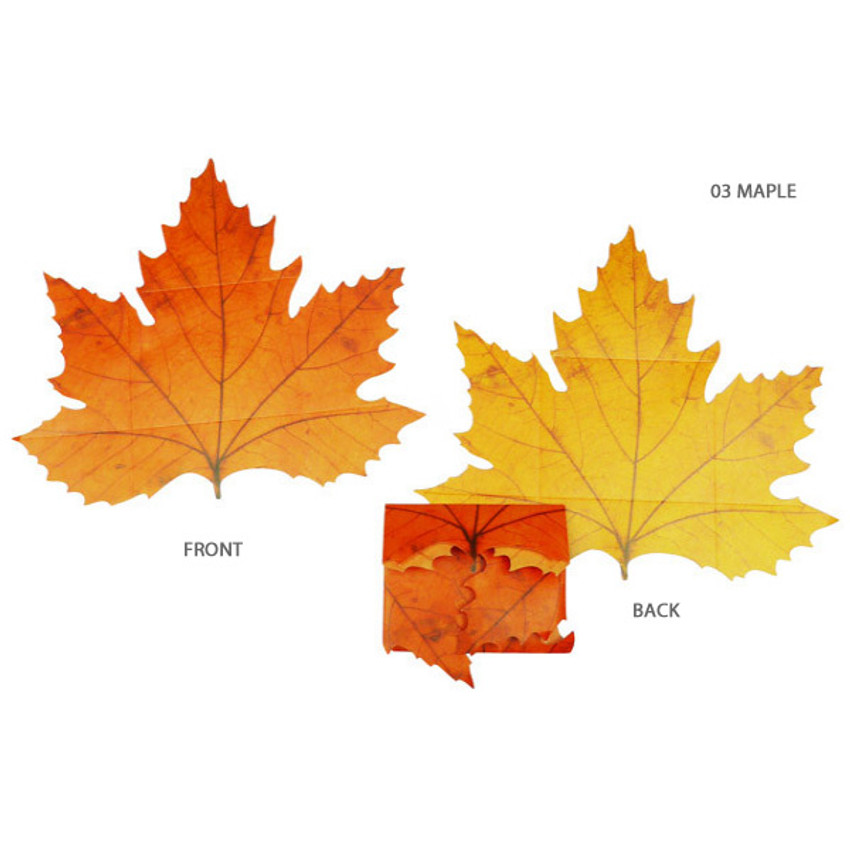 Maple - ABJECTION Tree leaf 3 cards set