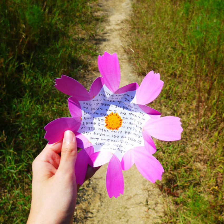 Example of use - ABJECTION Cosmos card and envelope set