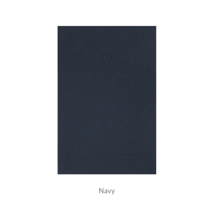 Navy - Indigo 6 Months dateless monthly diary planner
