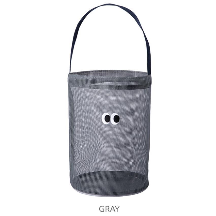 Gray - Livework Som Som stitch mesh tote bag ver2
