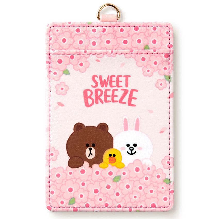 Monopoly Line friends sweet breeze card case holder