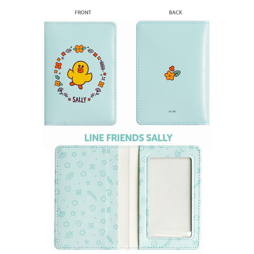 Sally - Monopoly Flower line friends card case holder