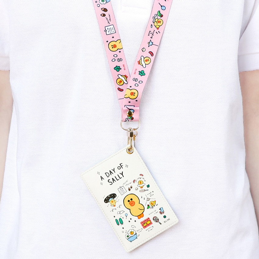 Example of use - Monopoly A day of Line friends card case holder