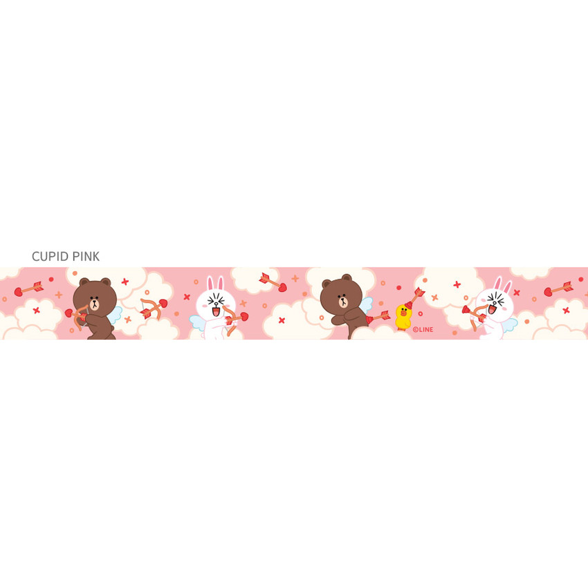 Cupid pink - Monopoly Cute line friend cupid and home neck strap