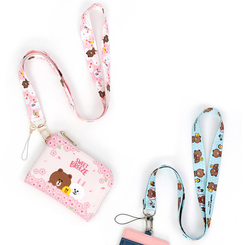 Example of use - Monopoly Cute line friend cupid and home neck strap