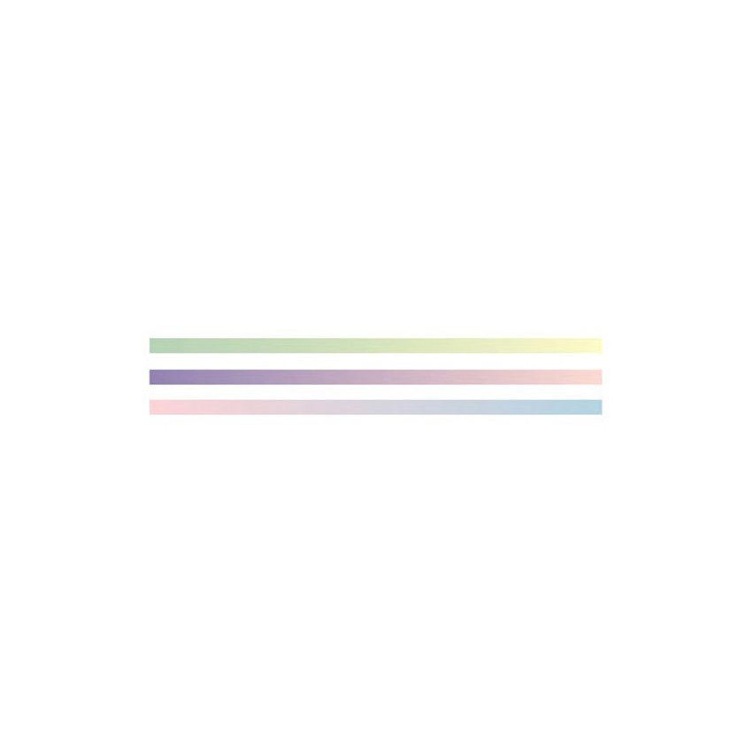 Detail of Dailylike Gradation 3mm deco masking tape 3p set
